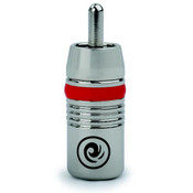 Planet Waves RCA Male connector - brushed chrome (pack 50)